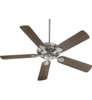 Pinnacle 52-in 5 Blade Antique Silver Transitional Ceiling Fan