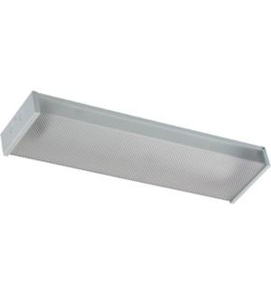 2' 2x9w T8 LED WRAP/STEEL
