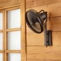 Veranda 13-in Oiled Bronze Indoor/Outdoor Wall Fan (4-Blade)