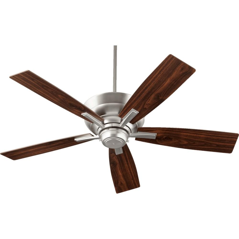 Mercer 52-in 5 Blade Satin Nickel Transitional Ceiling Fan