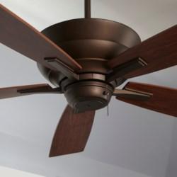 Mercer 52-in 5 Blade Oiled Bronze Transitional Ceiling Fan