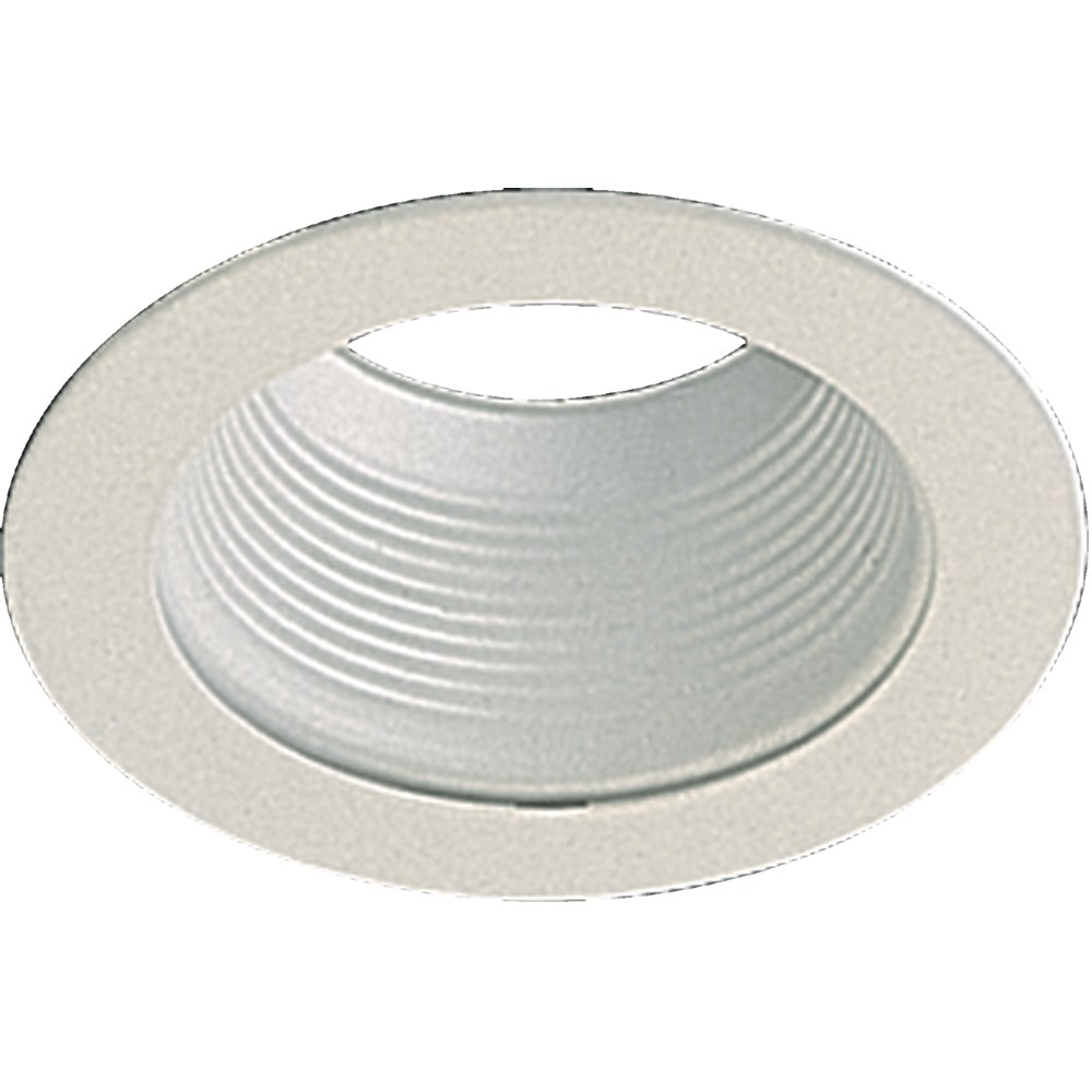 """5"""" STEPPED BAFFLE - WH"""