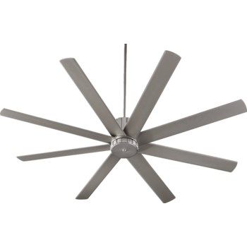Proxima 72-in 8 Blade Satin Nickel Transitional Ceiling Fan