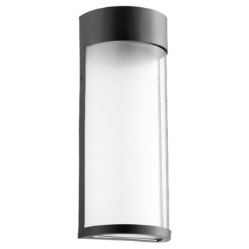 Fontaine Black Transitional LED Outdoor Wall Light
