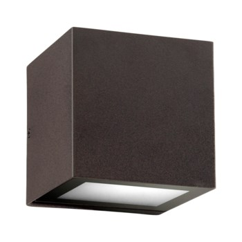 Ion Oiled Bronze  Contemporary Outdoor Wall Light