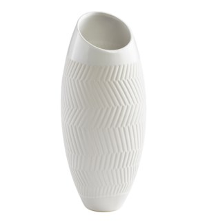 Small Chevron Vase