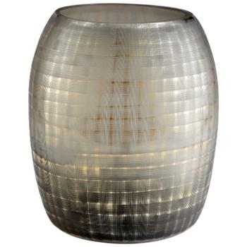 Gradient Grid Vase