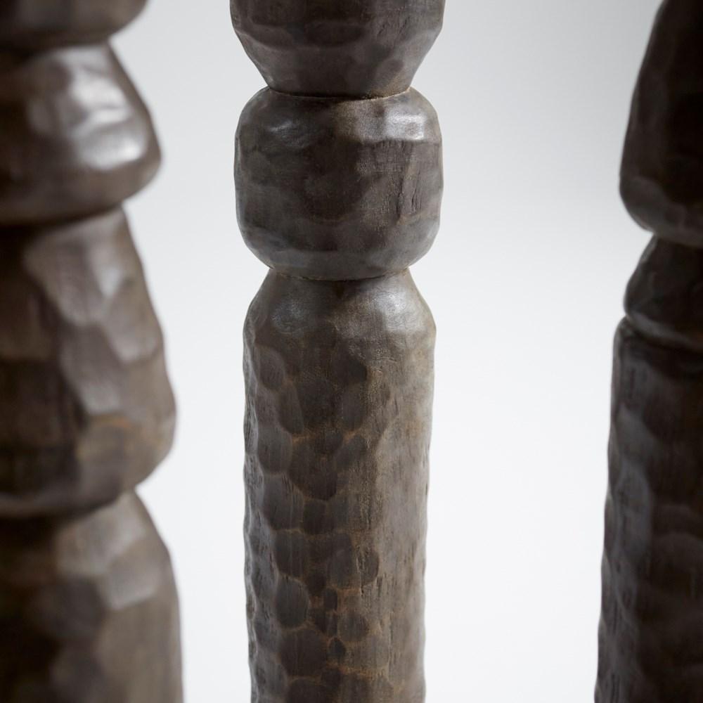 Large Kinsey Totem Sculpture Designed for Cyan Design by J. Kent Martin