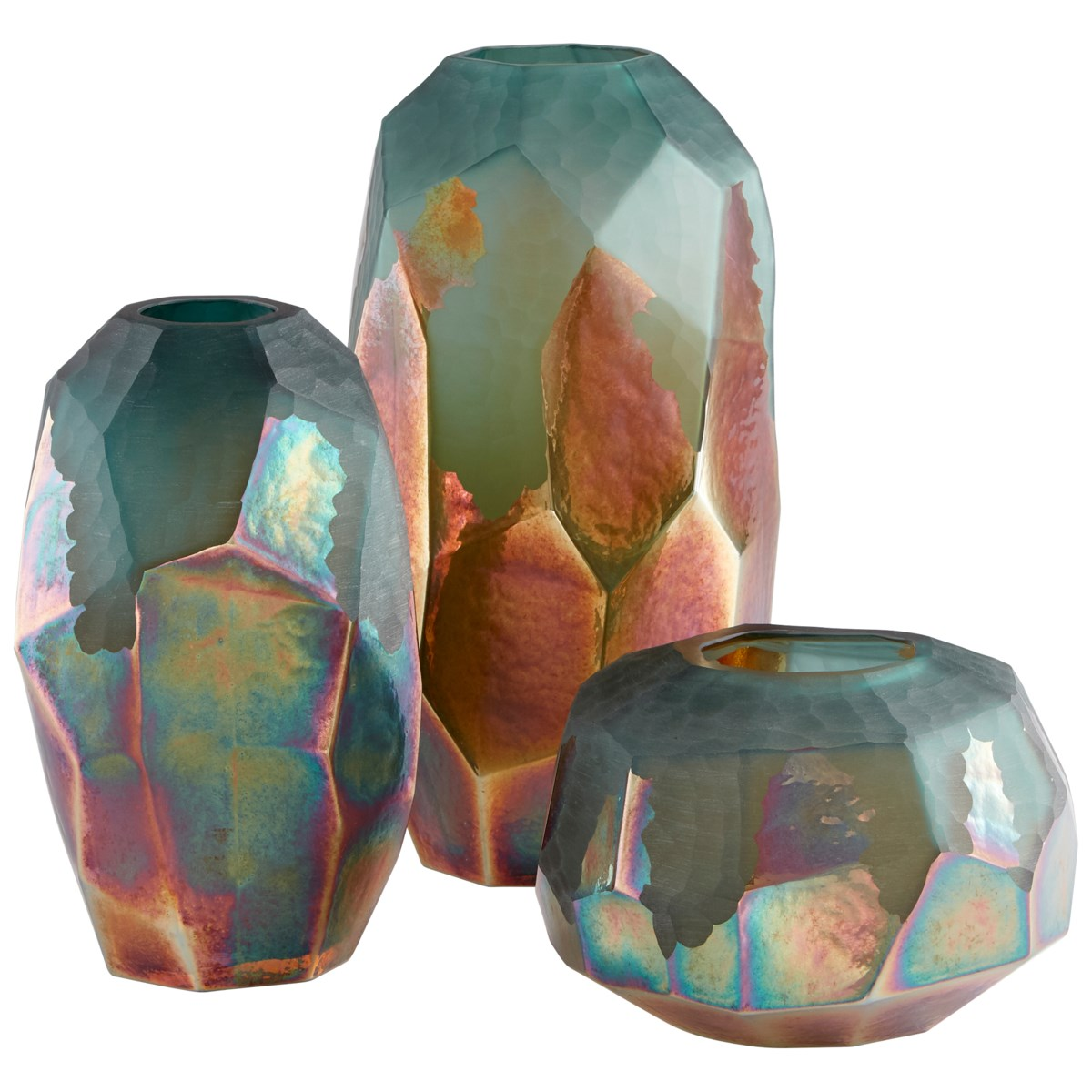 Small Roca Verde Vase