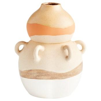 Light Earth Vase