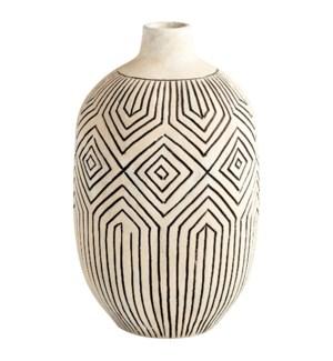 Small Light Labyrinth Vase