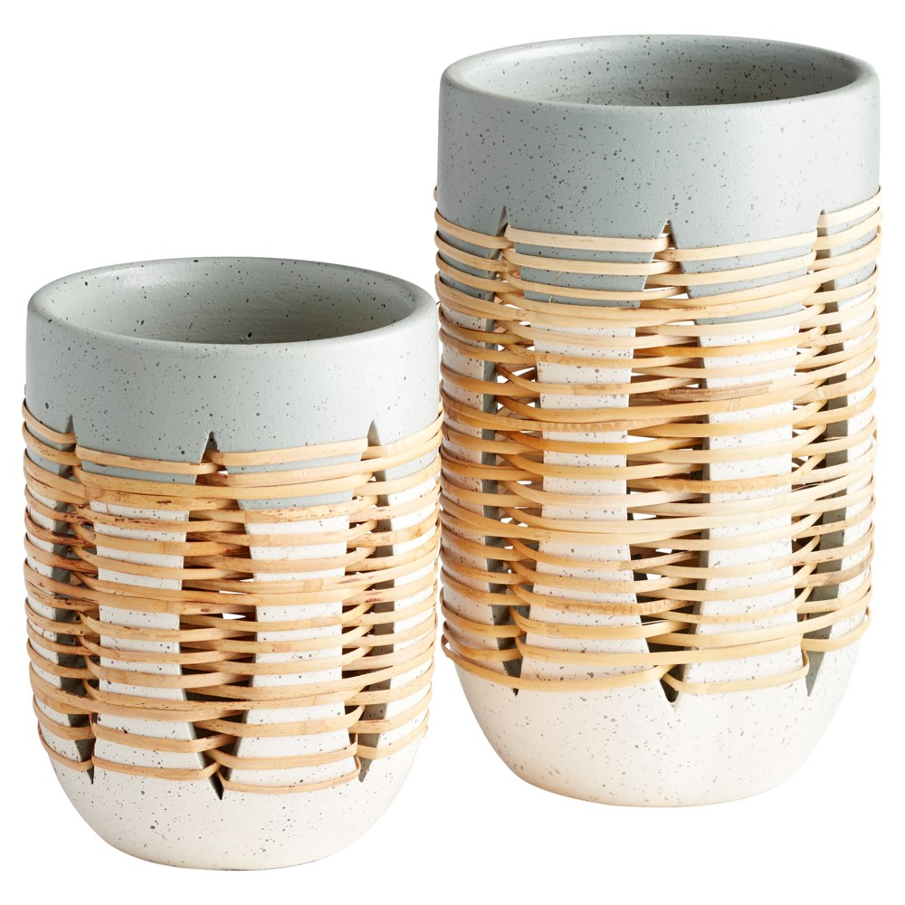 Small Cresent Vase