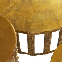 Large Lucila Gilded Table