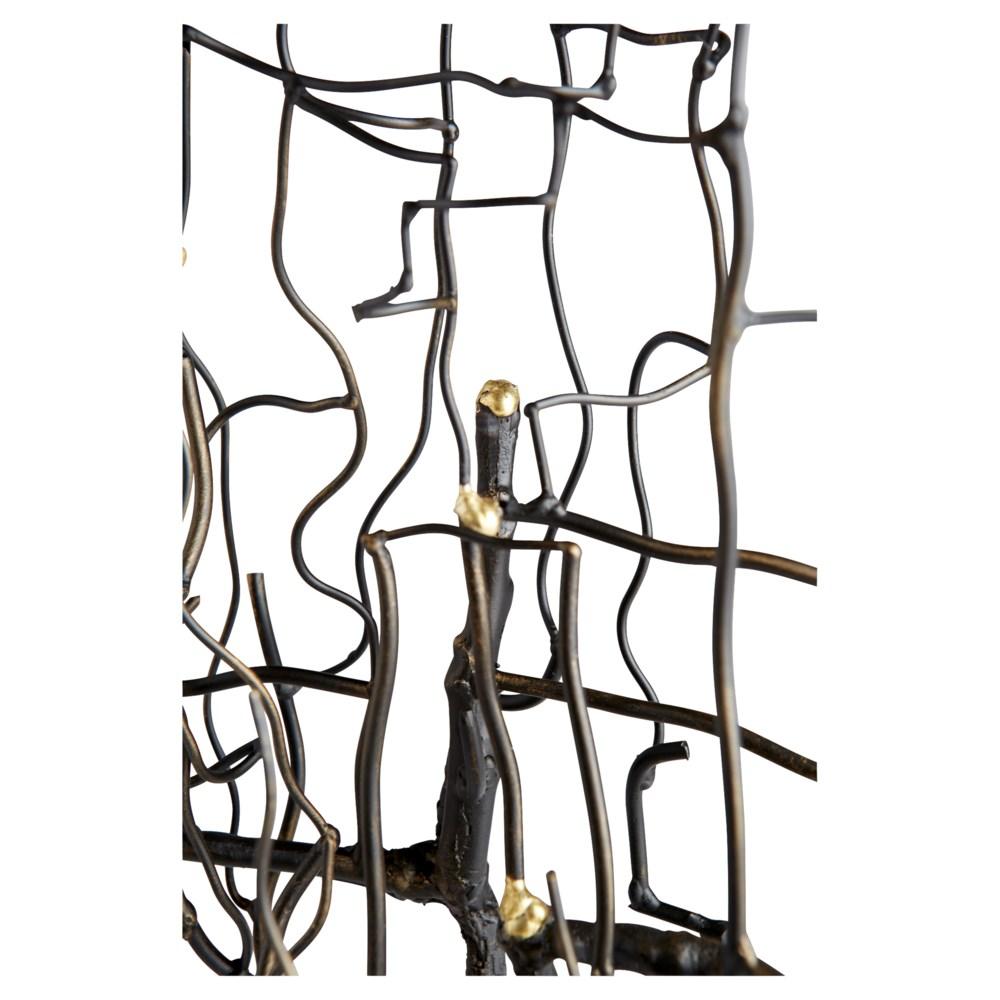 Wilting Brass Sculpture