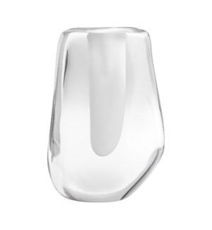 Clear Oppulence Vase