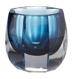 Small Azure Oppulence Vase