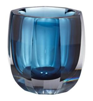 Large Azure Oppulence Vase