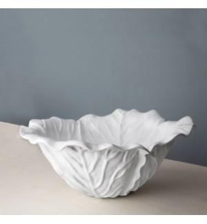 VIDA Lettuce Large Bowl (White)