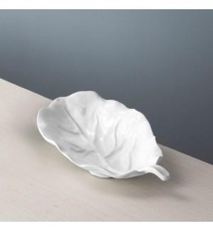 VIDA Lettuce Small Leaf Platter (White)