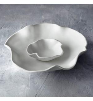 VIDA Nube Bowl with Dip (White)