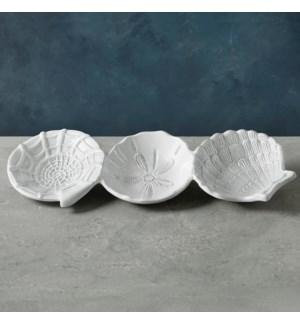 VIDA Ocean Shell Triple Dip (White)