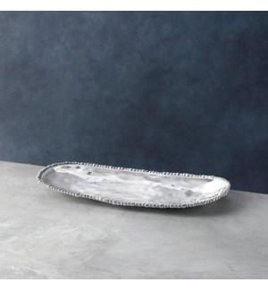 ORGANIC PEARL Nova Medium Oval Platter
