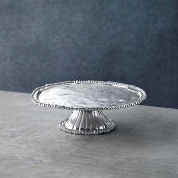 PEDESTAL Organic Pearl Nova Round Platter