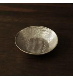 GIFTABLES Sierra Modern Python Small Round Bowl (Gold)
