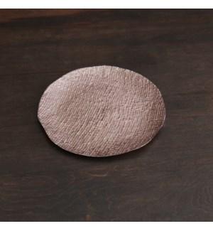 SIERRA MODERN Tela Medium Round Platter (Rose Gold)