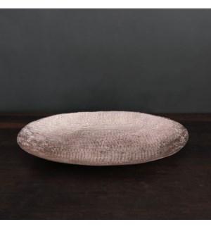 SIERRA MODERN Tela Large Deep Oval Platter (Rose Gold)