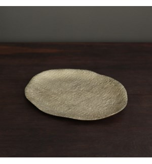 SIERRA MODERN Kioto Large Oval Platter (Gold)