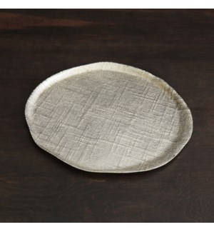 SIERRA MODERN Seattle Large Round Platter (Gold)