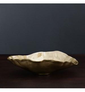 SIERRA MODERN Maia Large Oval Bowl (Gold)