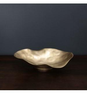 SIERRA MODERN Maia Medium Oval Bowl (Gold)
