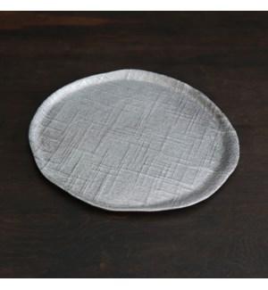 SIERRA MODERN Seattle Large Round Platter (Gunmetal)