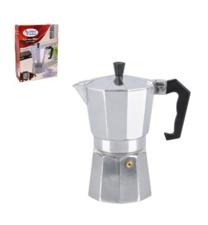 Esspresso Maker Alluminum 3 cup                              643700051141