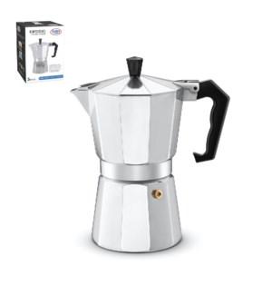 Esspresso Maker Aluminum 6 cup                               643700051158