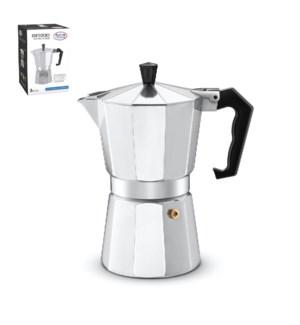 Esspresso Maker Aluminum 9 cup                               643700051165