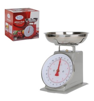 Kitchen Scale 22lbs SS Silver                                643700050991