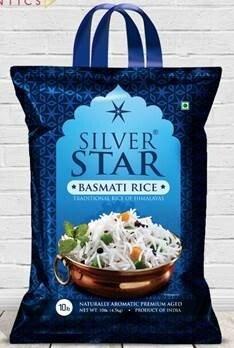 Silver Star Basmati Rice 10lbs 4.5kg                         860001127447
