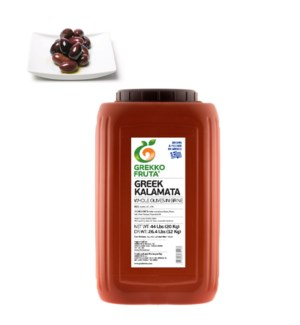 Greek Kalamata Whole Olives 26.4 lbs Jumbo 181-200           521300877013