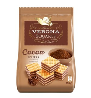 Verona Wafer Cubes with Cocoa Cream Filling 8.8oz 250g       531999150254