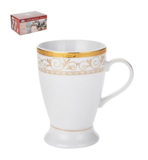 Coffee Mug Porcelain 6pc set 9oz, 270 ml                     643700072375