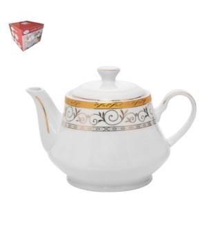 Tea Pot Porcelain 26oz                                       643700288769