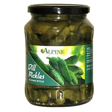 Al Mashrek Dill Pickles 24oz 680g                            643700210418