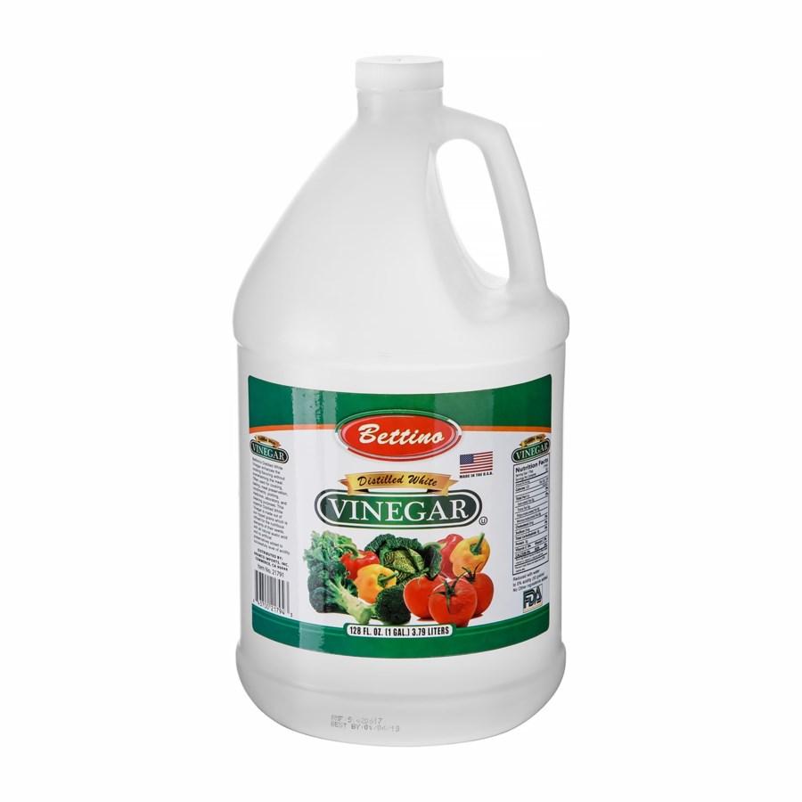 White Distilled Vinegar (50 grains) 1 Gal Bettino            643700217943