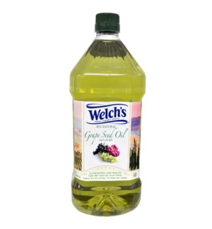 Grape Seed Oil 100% Pure 2L PET Welch's                      643700218940