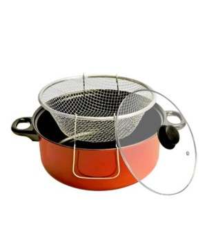 Cooking Fryer pot 4.5QT with Glass Lid                       643700150431