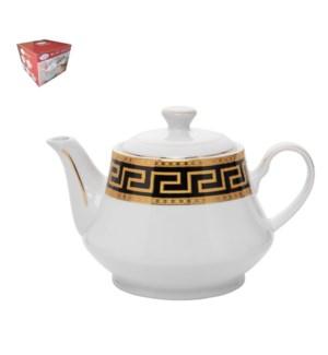 Tea Pot Porcelain 26oz                                       643700288806