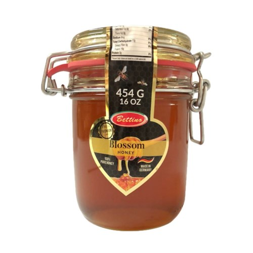 Bettino 100% Pure Blossom Honey 16oz 454g                    643700278951